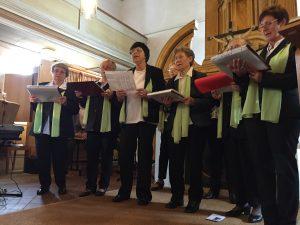 Chor in der Boilstädter Kirche