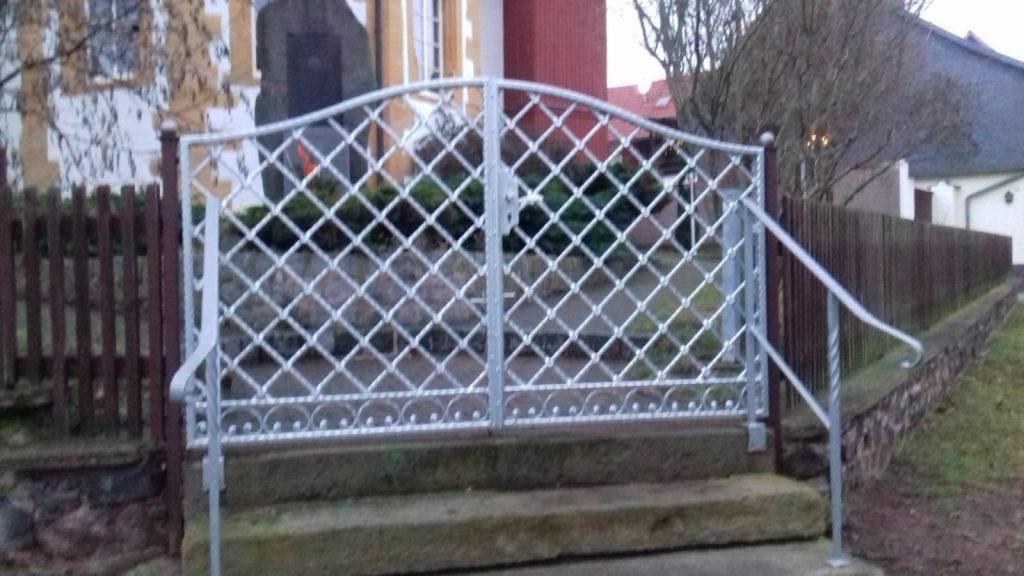 Neues Tor zum Kirchgarten Gospiteroda